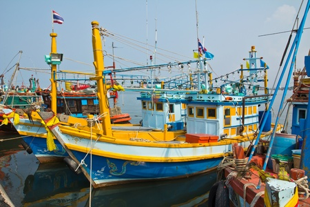 Fishing boat in Thailand photo