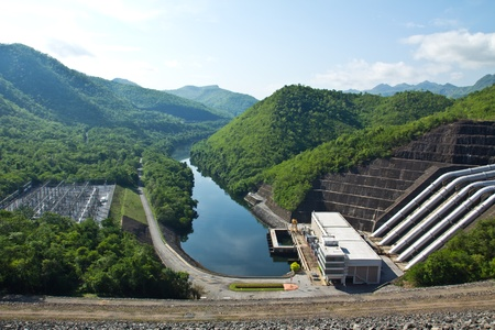 Hydroelectric power plant  photo