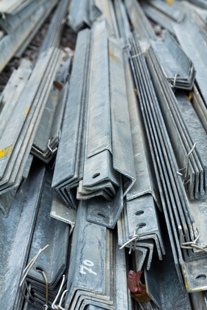 Group of beams in work place , shallow DOF Stock Photo - 13283800