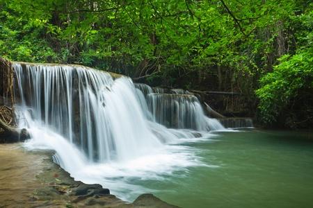 Waterfall in deep forest of Thailand Reklamní fotografie