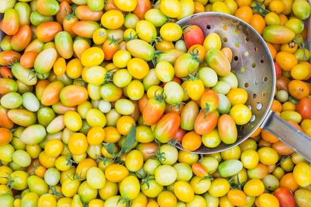 Yellow Tomatoes stacks