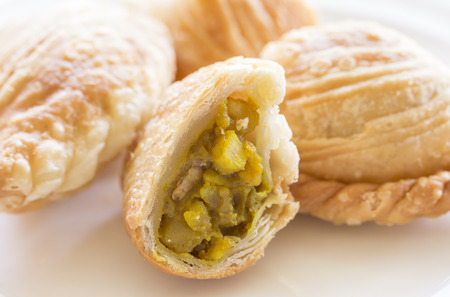 Curry puff Standard-Bild - 44264142