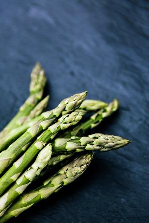 upbringing: grüner spargel green asparagus
