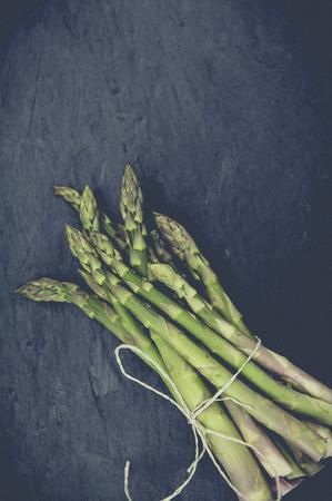 guerilla: fresh bio green asparagus