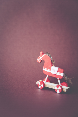 christmasy: Christmasy horse christmas holly decoration