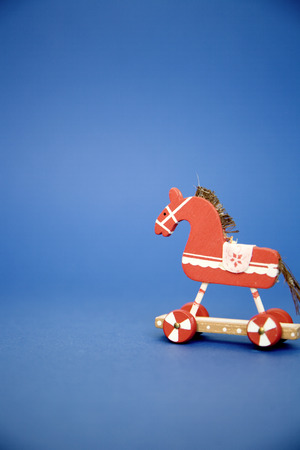 santa moose: Christmasy horse christmas holly decoration