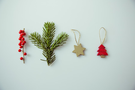 christmasy: Christmasy vintage christmas holly decoration