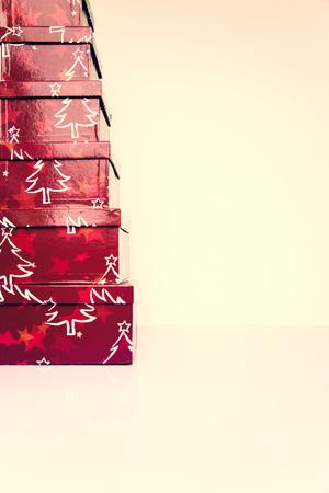 christmasy: Christmasy box christmas holly decoration