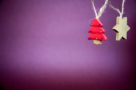 christmasy: Christmasy item christmas holly decoration Stock Photo