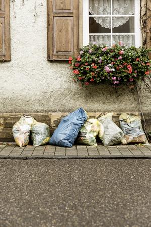separation: Waste Separation garbage bag