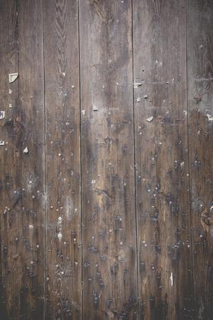 Dunkelbraun verwittert Holzboden Standard-Bild - 47225634
