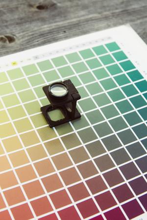 cmyk: cmyk color management linen tester print office