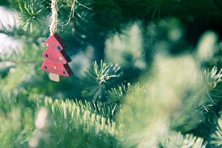 christmasy: Christmas vintage decoration Stock Photo