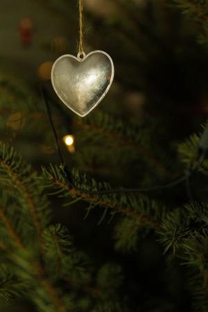 Weihnachten Jahrgang Holly Dekoration Lizenzfreie Bilder