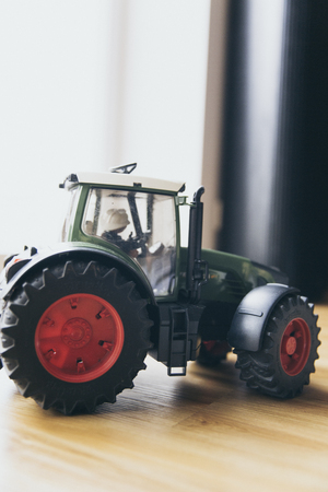 children play area: play toy agriculture