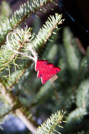 Weihnachten Jahrgang Dekoration Standard-Bild - 55251300