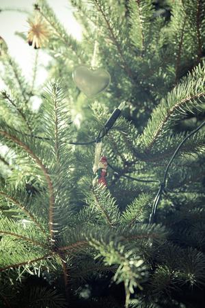 Christmas vintage decoration Standard-Bild