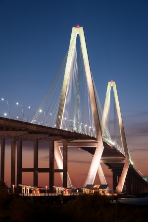 Arthur Ravenel Jr. Cooper River Bridge Charleston South Carolina photo