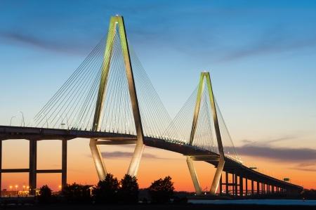 Charleston Arthur Ravenel Jr  Cooper River Bridge photo