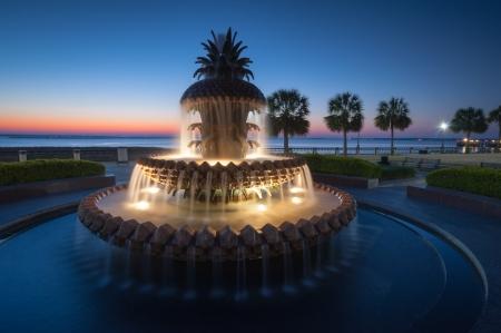 fontana: Charleston South Carolina Ananas Fontana Downtown Waterfront Park