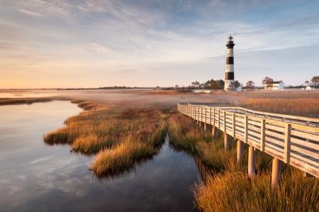 navigational light: Bodie Island Lighthouse North Carolina Outer Banks