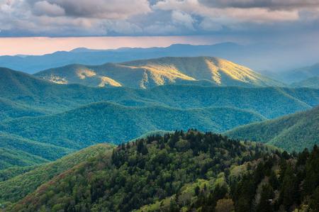 north ridge: Blue Ridge Mountains Western North Carolina Mountain Scenic