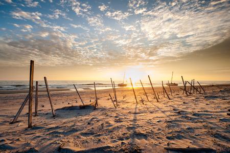 beach landscape: North Carolina OBX Cape Hatteras National Seashore