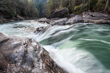 Chatooga Wild & Scenic Whitewater River Cascade photo