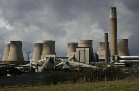 A Coal Burning Power Station Фото со стока - 367224