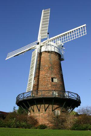 Ветряная мельница Фото со стока - 657855