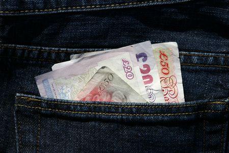 U.K. Bank Notes Фото со стока