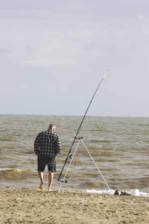 Sea Fishing Фото со стока