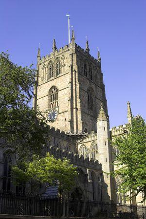 St Marys Church, The Lace Market, Nottingham, England Фото со стока