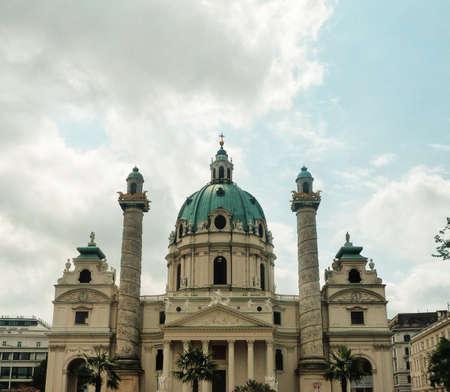 Church Cathedral in Vienna Austria 版權商用圖片