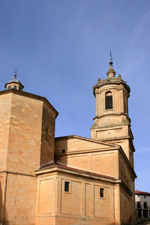 santo domingo: The church of the benedictine monastery of Santo Domingo de Silos, Spain (11th-18th centuries)