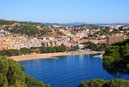 costa brava: Sant Feliu de Guixols (Costa Brava, Catalogne, Espagne)