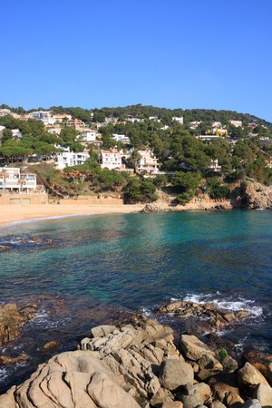 Cala Sant Francesc beach near Blanes (Costa Brava, Catalonia, Spain) photo