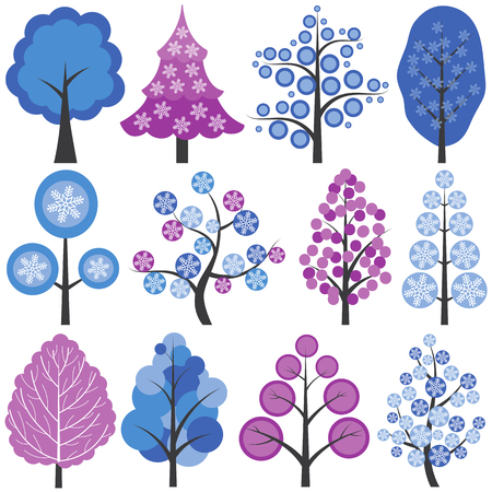 200,714 Winter Trees Cliparts, Stock Vector And Royalty Free ...