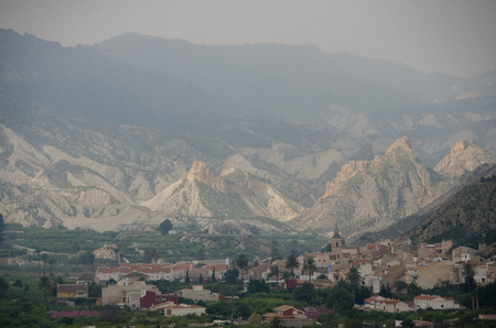 Panoramic view of the Valley of Ricote
