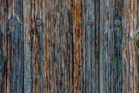 Old and rusty wood with beautiful colors Stock Photo