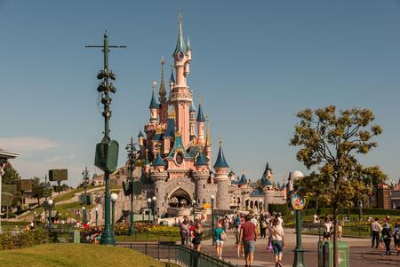 Disney Land Paris 報道画像