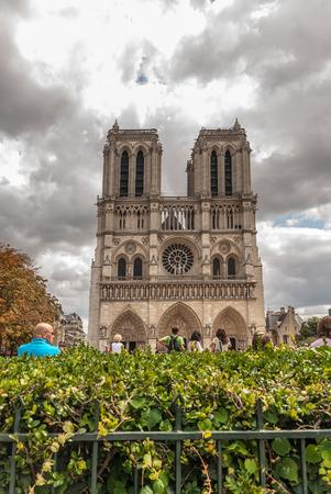 Cathedral of Notre Dame de Paris. France