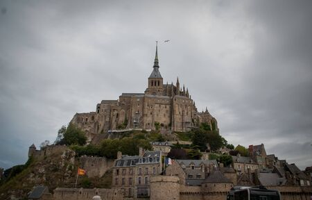 The Mont Saint Michel. Stock Photo