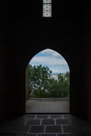 Views from the inside of Mont Saint Michel.