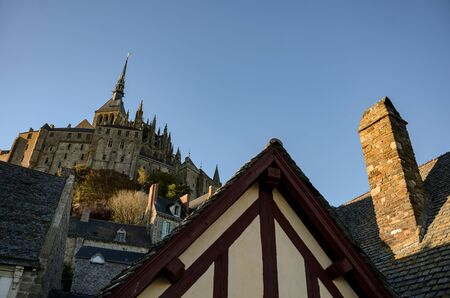 Abbey of Mont Saint Michel.