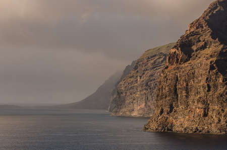 Los Gigantes cliffs in Santiago del Teide, Tenerife island. Canary Islands. Spain Stockfoto