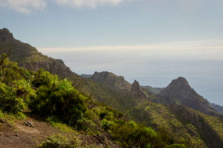 Masca in the municipality of Buenavista del Norte de Tenerife in the Canary Islands. Spain