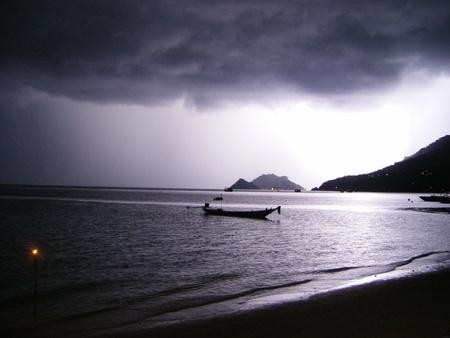 koh tao: Koh Tao Thailand - lightning
