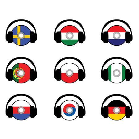 languages Ilustrace