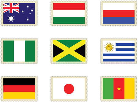 stamps flags 2